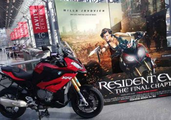 BMW's 1000XR makes its movie debut in Resident Evil movie.