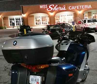 Gateway Riders Wednesday night meeting location.